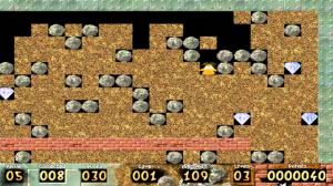 احد مستويات لعبة حرامي الماس