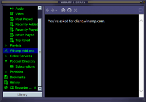 تحميل ثيمات برنامج وين امب من الانترنت
