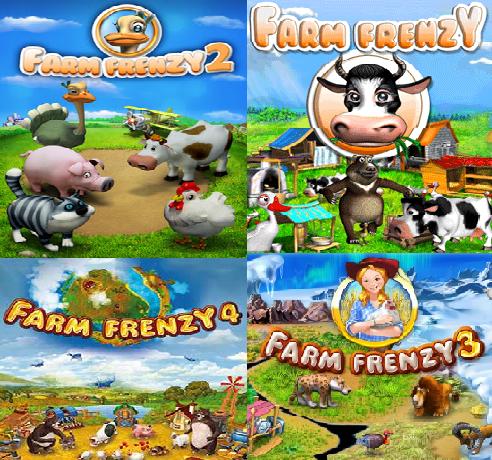 جميع اجزاء لعبة Farm Frenzy