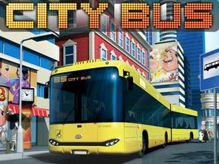 غلاف لعبة حافلة المدينة