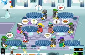 احد المستويات فى لعبة مطعم البطريق 2