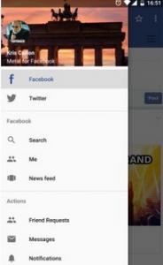 ادارة تطبيق فيس بوك