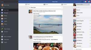 تطبيق فيس بوك على الكمبيوتر