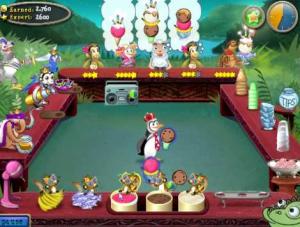 صورة المستوى 56 فى لعبة مثلجات البطريق