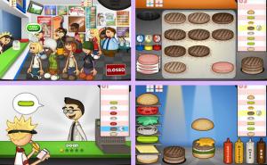صور لعبة مطعم Papas Burgeria