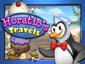 لعبة البطريق بائع الايس كريم