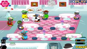 لعبة عشاء البطريق
